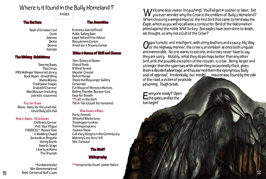 table of contents/crow