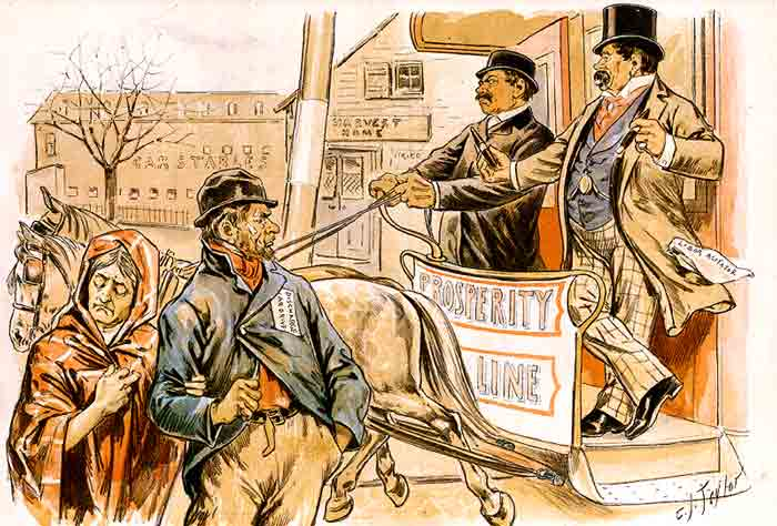 The Gallery For Gt Robber Baron Political Cartoon